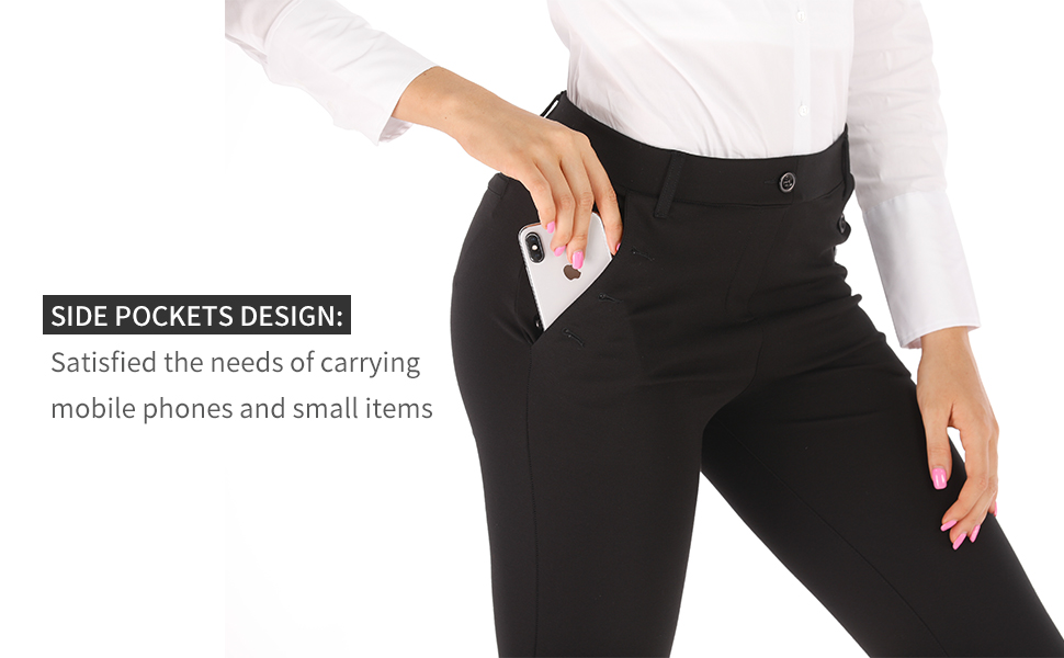 women business dress pants soft stretch pants for work