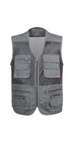 Multi-Pocket Photography Journalist's Vest