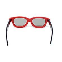 Ultra 2 Par de Rojo y Negro Gafas 3D Pasivo para Niños para Uso ...