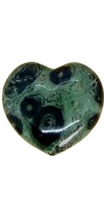 Coeur Jaspe vert kambamba