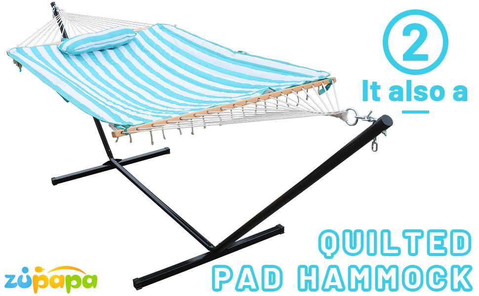 heavy duty hammock stand