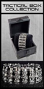 skull bracelets for men chrome skulls mens cuff bracelets skull bracelet for men watch box
