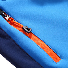 Kid's Outdoor Fleece-Lined Soft Shell Hiking Fishing ski Pants Insulated Water Wind-Resistant