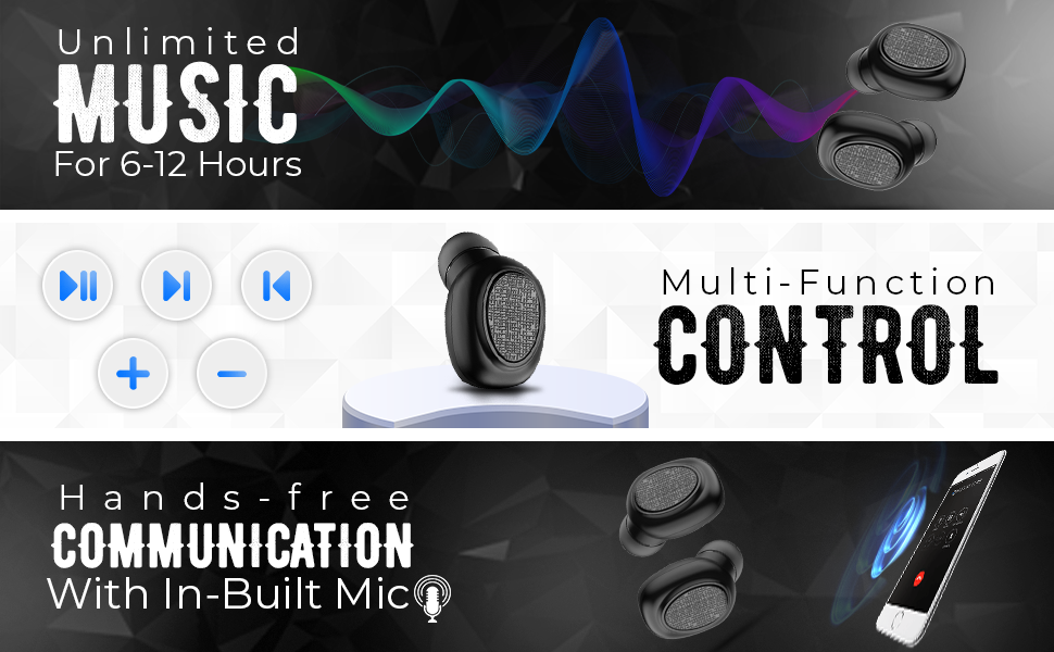 Music Control WatchOut Earpod