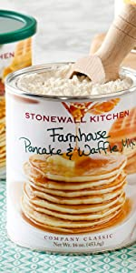 stonewall kitchen breakfast mix pancake waffle morning brunch buttermilk crepe