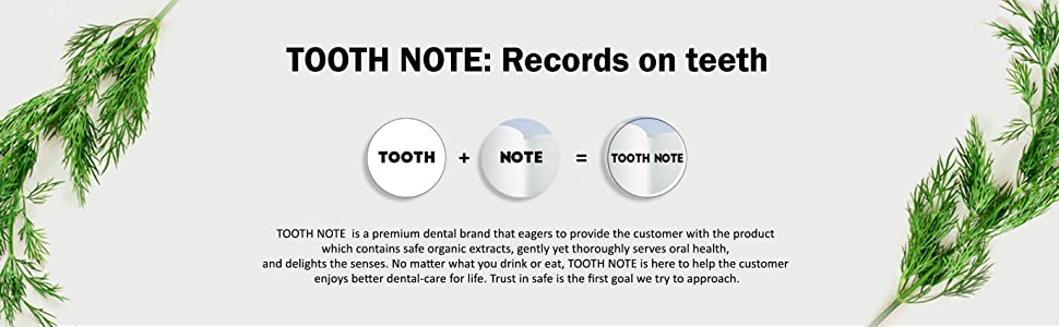 TOOTH NOTE