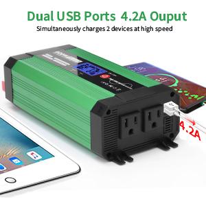 Dual USB Quick Charging