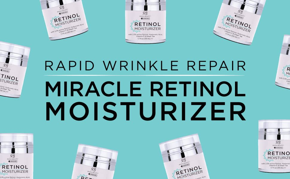 Rapid Wrinkle Repair Miracle Retinol Moisturizer