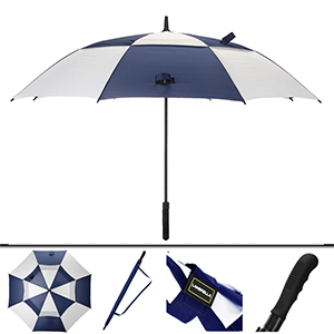 60inch 68inch 80inch navy white golf umbrella