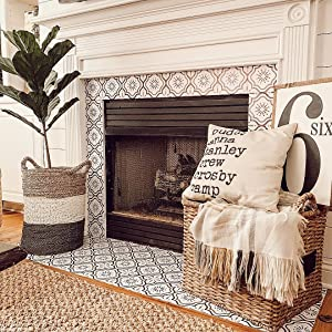 fireplace décor