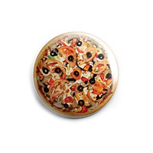 Pizza for yummy Food lovers foodies Fridge Magnets