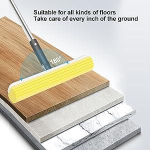 Hand Free Floor Mop