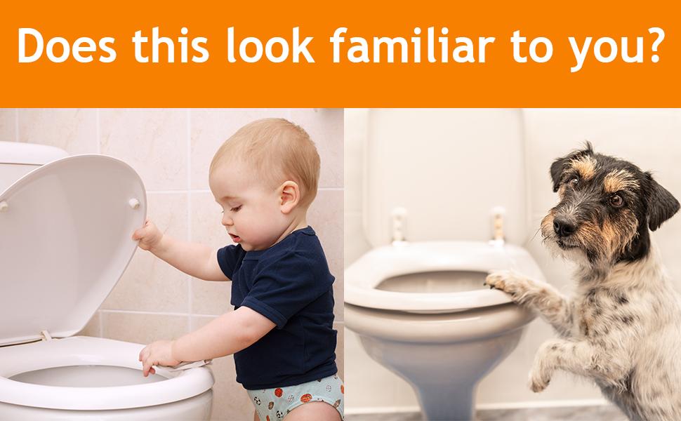 baby toilet lock