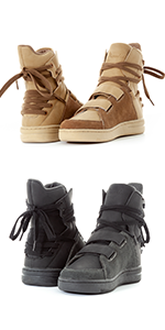 lace up high top sneaker, fashion tan sneaker, fashion black sneaker, tan high top, black high top