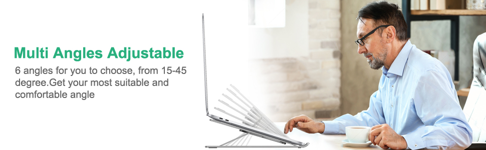 Portable Adjustable Tablet Computer Stand