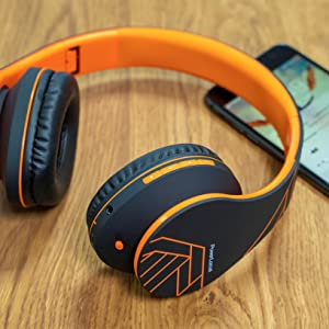 Cuffie wireless over ear per cuffie TV portatili compatibili con cuffie alexa