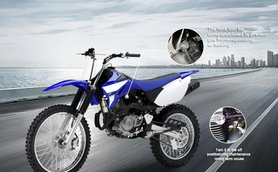 FLYPIG New Fuel Valve Petcock Gas Shut Off Switch for Honda 16950-GF6-015 16950-163-035 16950-GW8-670 14 x 1.0 mm 50cc 70cc 90cc 110cc 125cc 150cc 200cc 250cc Z50R Z50 Scooter ATV Dirt Bike Go Kart