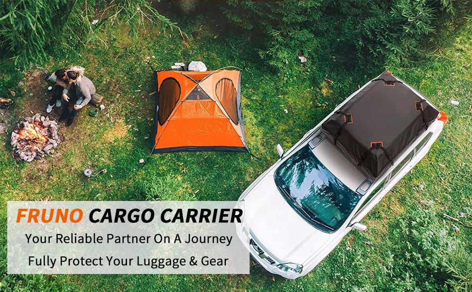Rooftop cargo carrier
