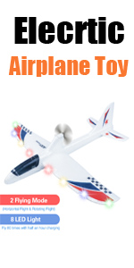 electric airplane toys