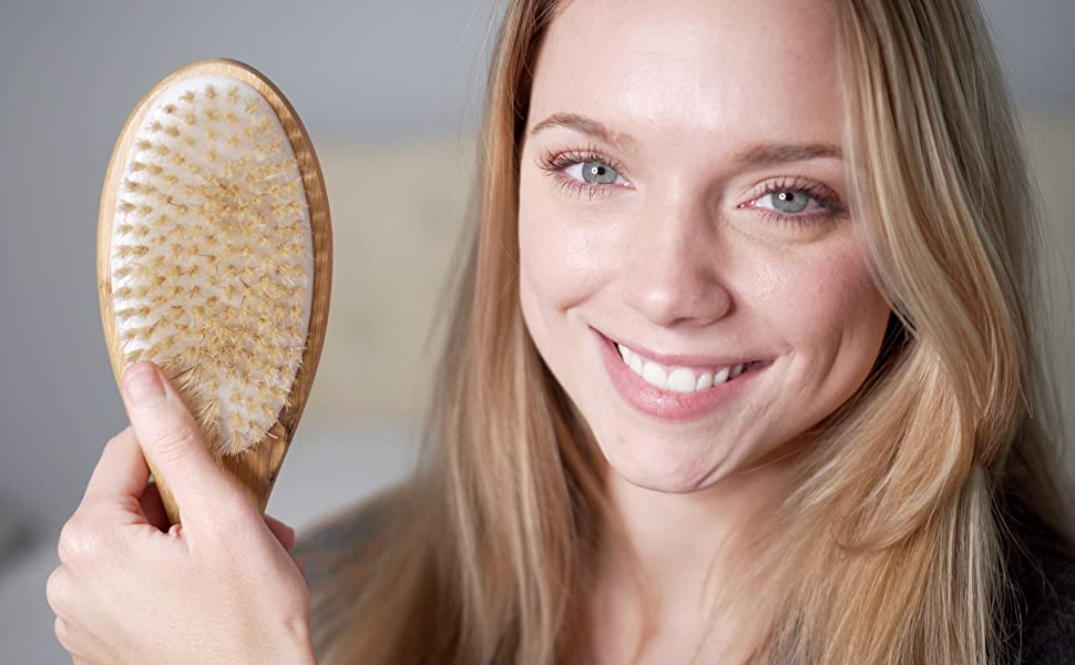 back scrubber Shower, Stimulate Blood Circulation, Get Rid of Cellulite and Dry Skin