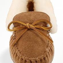 outdoor real sheepskin shoe size slipper sole suede walking warm wide width winter women wool