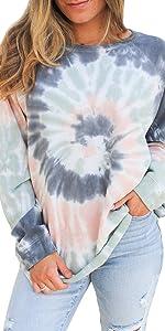 Tie Dye Printed Sweatshirt