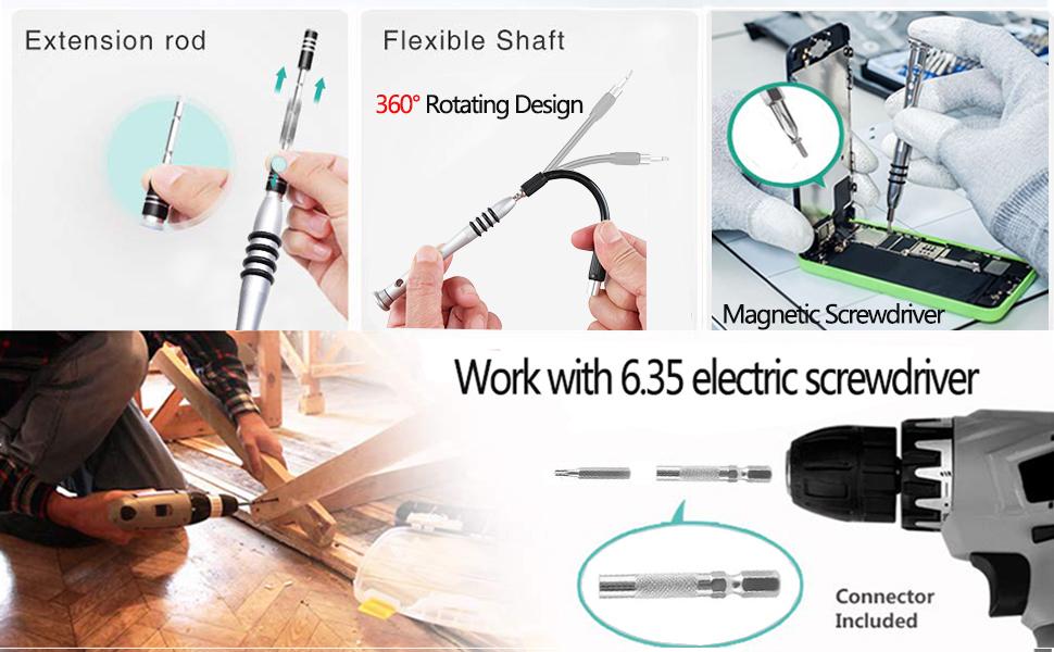 Professional Magnetic Screwdriver Set Tools