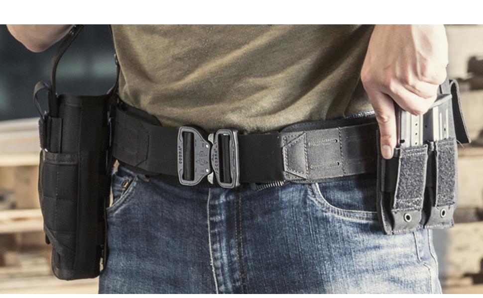 condor, gun belt, cobra buckle, austrialpin, molle, tactical, training, military belt, outdoors
