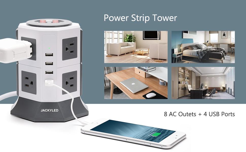 power strip tower