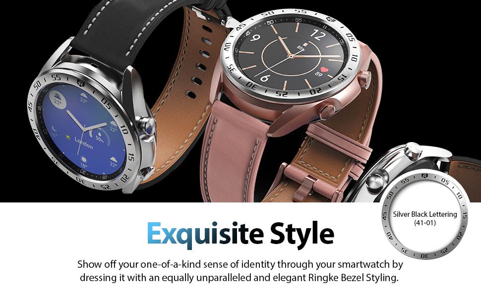 Ringke Bezel Styling for Galaxy Watch 3 41mm Bezel Ring