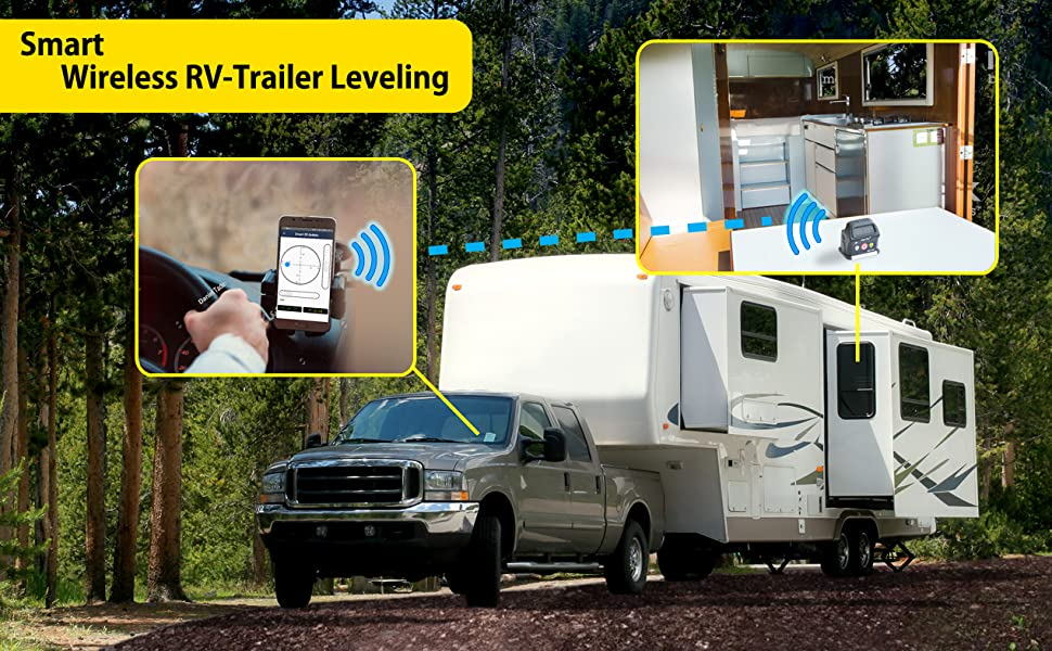 Smart Wireless RV-Trailer Application