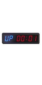 1.8inch workout timer interval timer remote