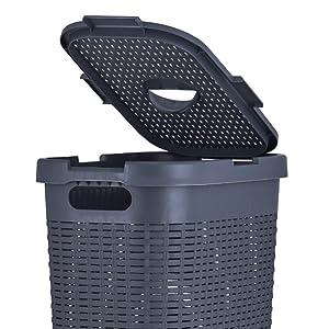 Durable lid And Cutout Handles