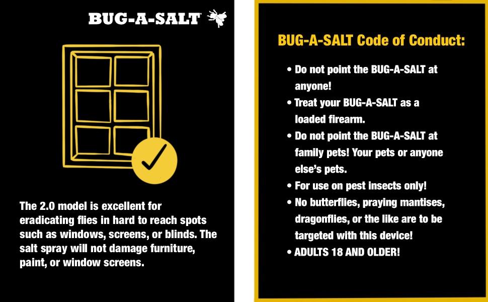 Bug-A-Salt, Yellow 2.0