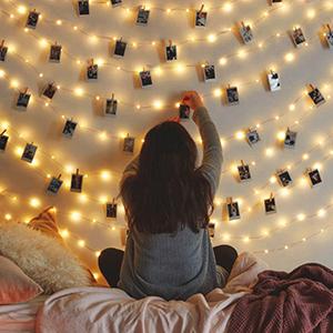 room fairy lights