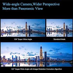 Ultra wide angle