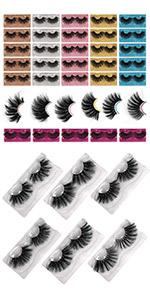 mink lashes mink lashes pack false lashes lashes 25mm eye lashes natural lashes mink lashes bulk