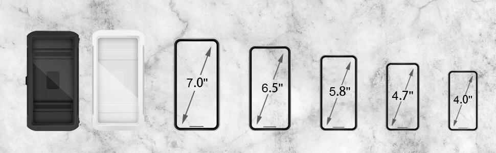 compatible with 4-7'' smartphones