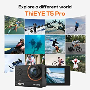 NATIVE 4K ULTRA HD ACTION CAMERA