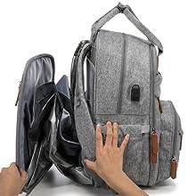 diper baby backbag