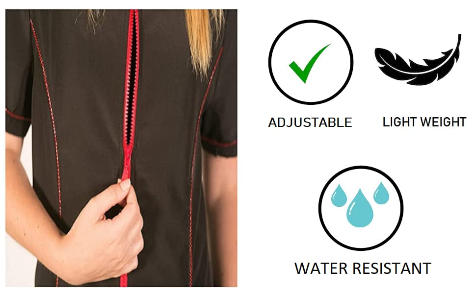 waterproof dog jacket hairdresser smock grooming apron grooming jackets for women