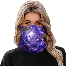 Rave Face Mask Bandana Dust Wind UV Sun, Neck Gaiter Tube Mask Headwear