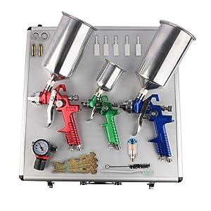 HVLP Spray Gun Set