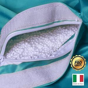 polistirolo di puff pouf poltrone sacco di design