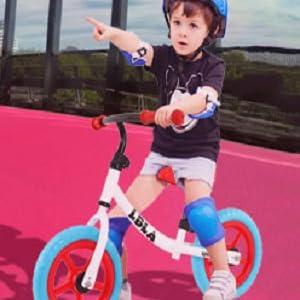 bike with boys