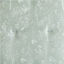 Floral Plant Comforter Set - Reversible Comforter Hypoallergenic Down Alternative duvet insert