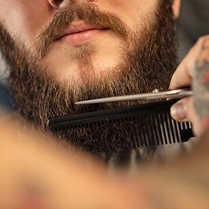 Peluquería Peluquería Barba y bigote Tijeras de aseo para hombres