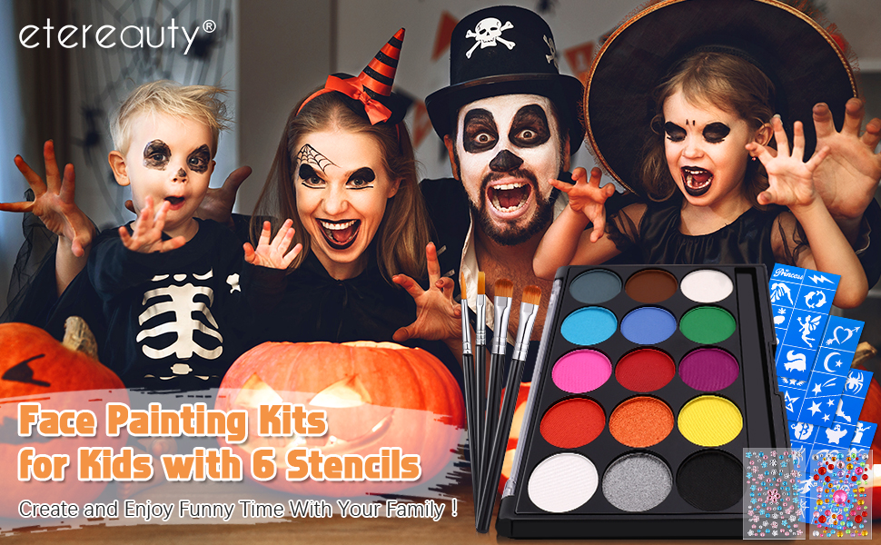 Face Painting Kits for Kids