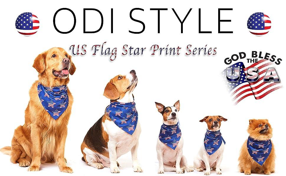 Patriotic Puppies Glitter