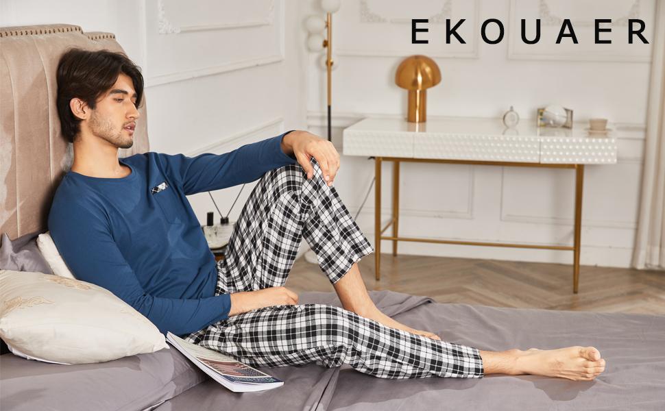 Ekouaer Pajama for Men